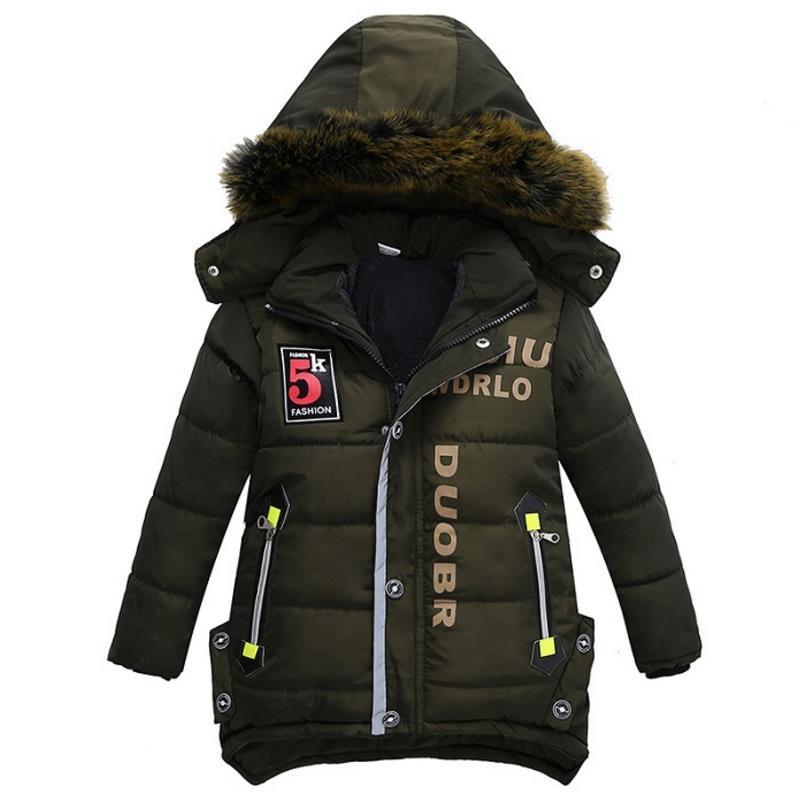 b26cf6ba9ef8b Acheter Veste D'hiver Pour Enfants À Capuche En Coton Pour Enfants Porter  Un Manteau De Neige Chaude Pour Bébé Garçon De 3 À 6 Ans De $32.96 Du  Henryk ...