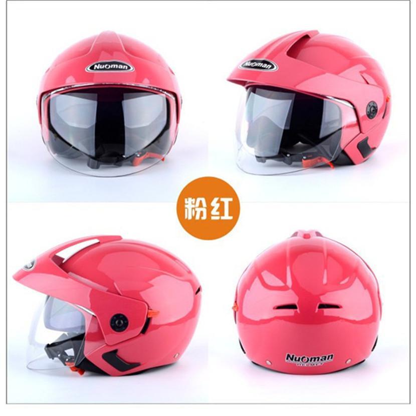 1cc883144c352 Compre Adultos Doble Lente Cascos Para Motocicleta Retro Medio ...