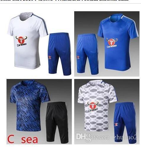 8d7141aa74e 2018 HAZARD Soccer Jersey 18 19 MOROTA WILLIAN Short Sleeve Soccer Shirt  2019  7 KANTE  4 FABREGAS Football Uniforms Sales 2018 World Cup MOROTA  WILLIAN ...