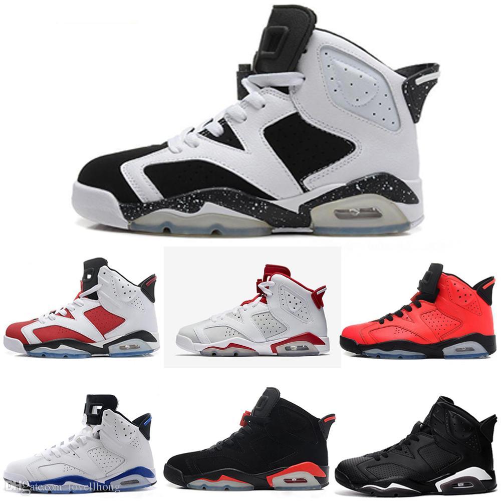 wholesale dealer d83b2 e3ce7 Acheter Nike Air Jordan Aj6 6s CNY Chine Année Chaussures De Basket Ball  Slam Dunk Pantone GS Pinnacle Vert Bugs Bunny Mens Sport Sneakers Taille  7.0 13 De ...