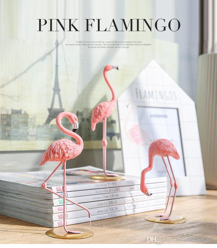 compre 1 unid venta al por mayor decoración del hogar resina rosa