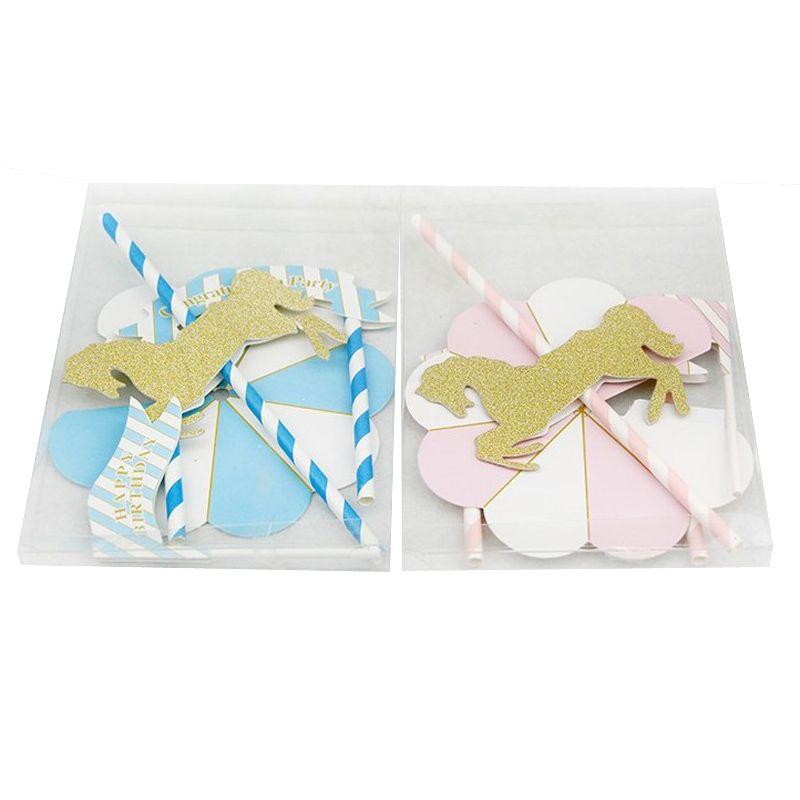 Leeiu 45*45cm Pillow Case Baby Shower DIY Unicorn Party Decoration Wedding Birthday Decor Party Supplies