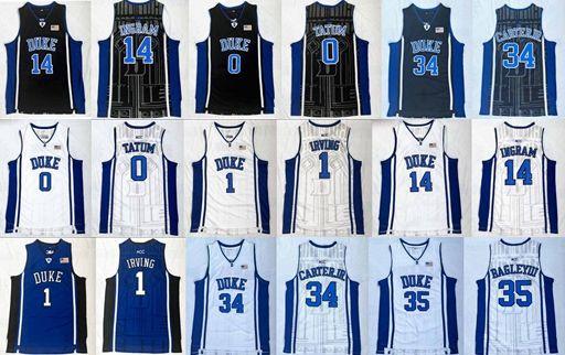College Basketball Duke Blue Devils 1 Kyrie Irving 0 Jayson Tatum 14 ... d3963f4d9