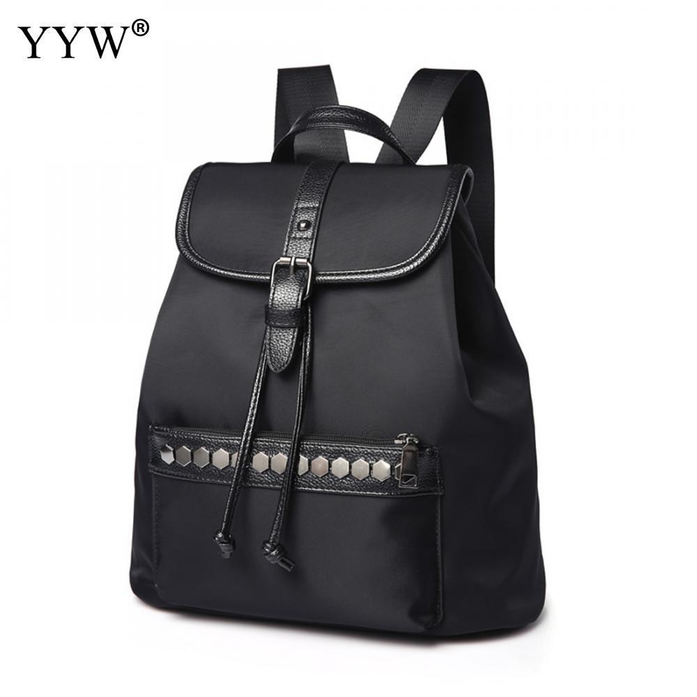 22daab22481d8 Satın Al Yeni Tasarım Kadınlar BackpacPreppy Stil Oxford Bayan Sırt Çantası  Perçin Sırt Çantası Büyük Kapasiteli Tasarımcı Kadın Kız Moda, $59.09 |  DHgate.
