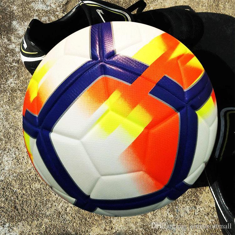 Compre Balones De Fútbol Profesional PUSize 5 Balón De Fútbol Deportivo  Balones De Futbol Equipo De Entrenamiento A  25.13 Del Sinhsportmall  18d5416258de5