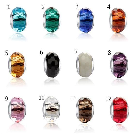 Perles de Pandora bricolage coloré perles Charms fit pour Bracelet Pendentif Convient Original Bracelet de Charms Pandora pour femmes bricolage fabrication de bijoux CNY277
