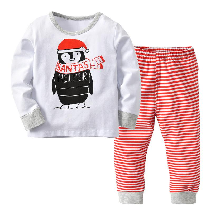 6b7d3ced0 Kids Baby Household Clothing 2018 Boys Or Girls Cotton Christmas ...