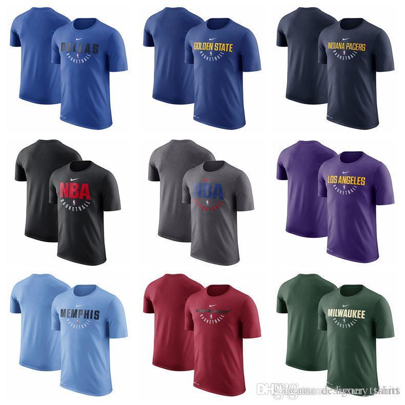 6a3987982 Men Women Youth T Shirts DallasMavericks Nuggets LA Clippers Pelicans  Celtics Chicago Bulls MenCavaliers Elite Practice Performance T Shirt Best  T Shirts ...