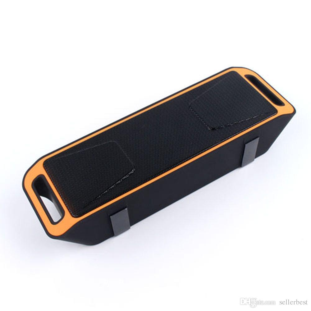 Double Speakers Portable Wireless Bluetooth 4.0 Speaker Stereo Subwoofer Speakers TF USB FM Radio Dual Bass Speakers