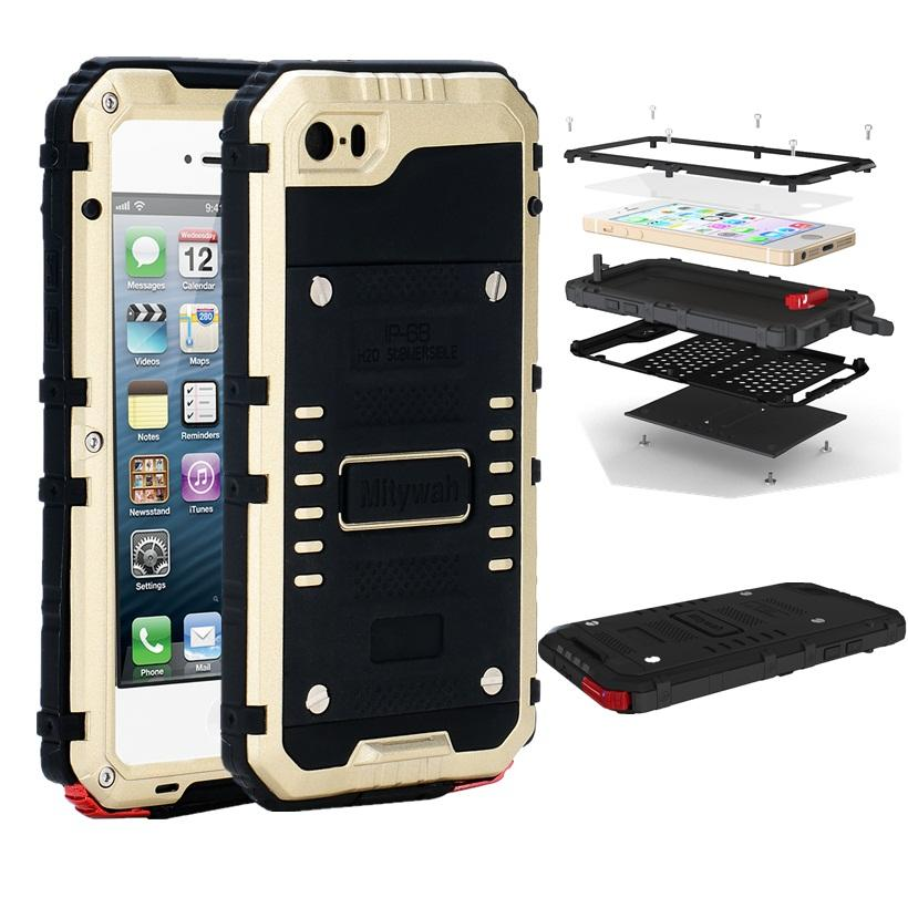 promo code ee8e2 d3e38 Real Ip68 Waterproof Case For Iphone 5 5s 5se Fundas Underwater Diving Back  Cover Water Proof Bag Full Protective Covers