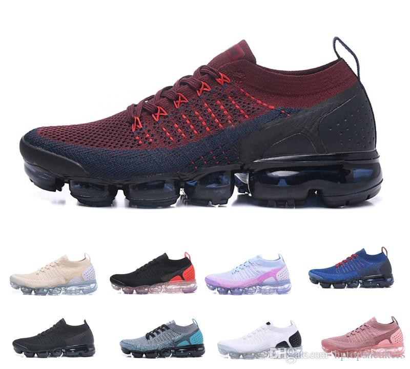 d7dd01bcf37260 2018 Hot 2.0 Running Shoes Men Women 2 Black Blue Pink White ...