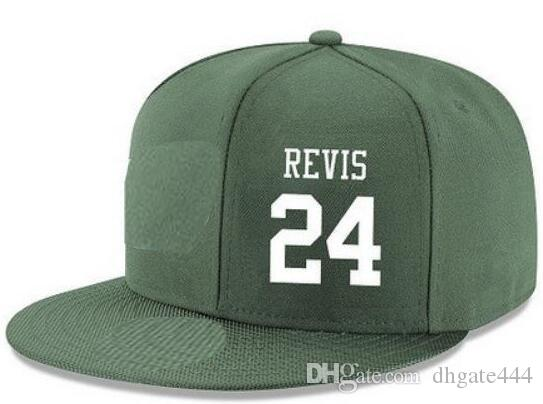 6d60254d4d0 Snapback Hats Custom Any Player Name Number  24 Revis  22 Forte Hat ...