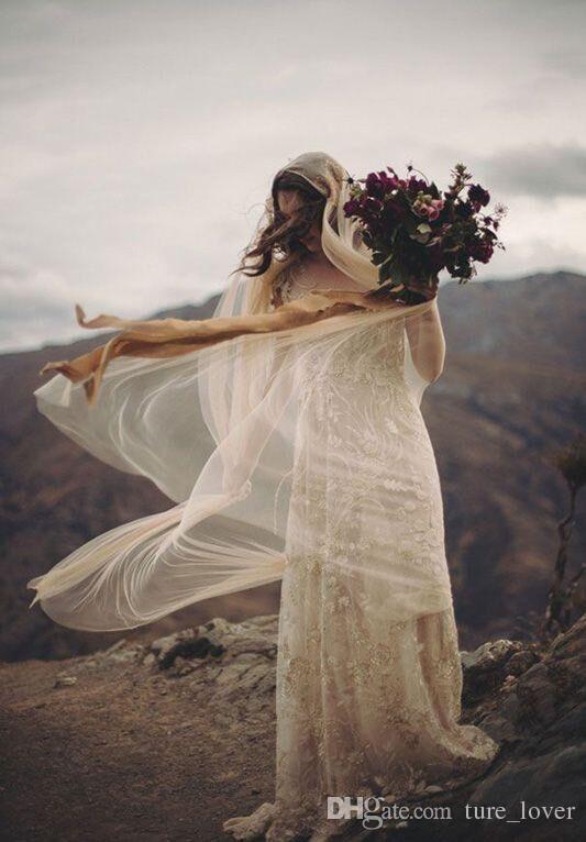 2019 vestidos de noiva branco / marfim / champanhe véu do casamento simples uma camada tulle véu nupcial 3m longo acessórios nupciais véu nupcial