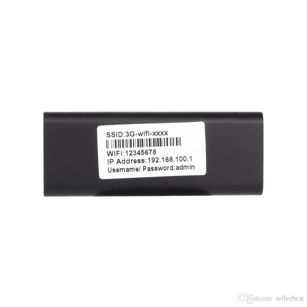 Mini 3G / 4G WiFi Router Wireless Usb Wlan 4G Hotspot 150Mbps RJ45 USB WiFi Router para Mac iOS Android Teléfono móvil Tablet PC