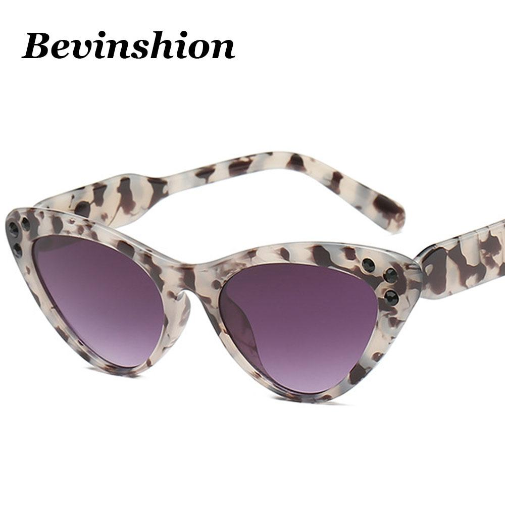 e90f48b193a2 Celebrity Cat Eye Sunglasses Women Mosaic Diamond Luxury Brand Sexy Vintage  2018 Top Fashion Sun Glasses Ladies Colored Lens Sunglasses Cheap Sunglasses  ...