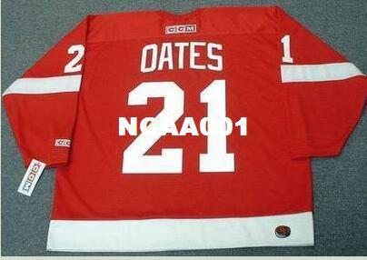 9d28719ae ... low price 2018 men 21 adam oates detroit red wings 1988 ccm retro away  hockey jersey