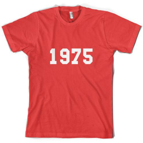 1975 College Style Mens 40th Birthday Present Gift T Shirt 10 Colours Skull Shirts Tea From Shirtifdesign 1101