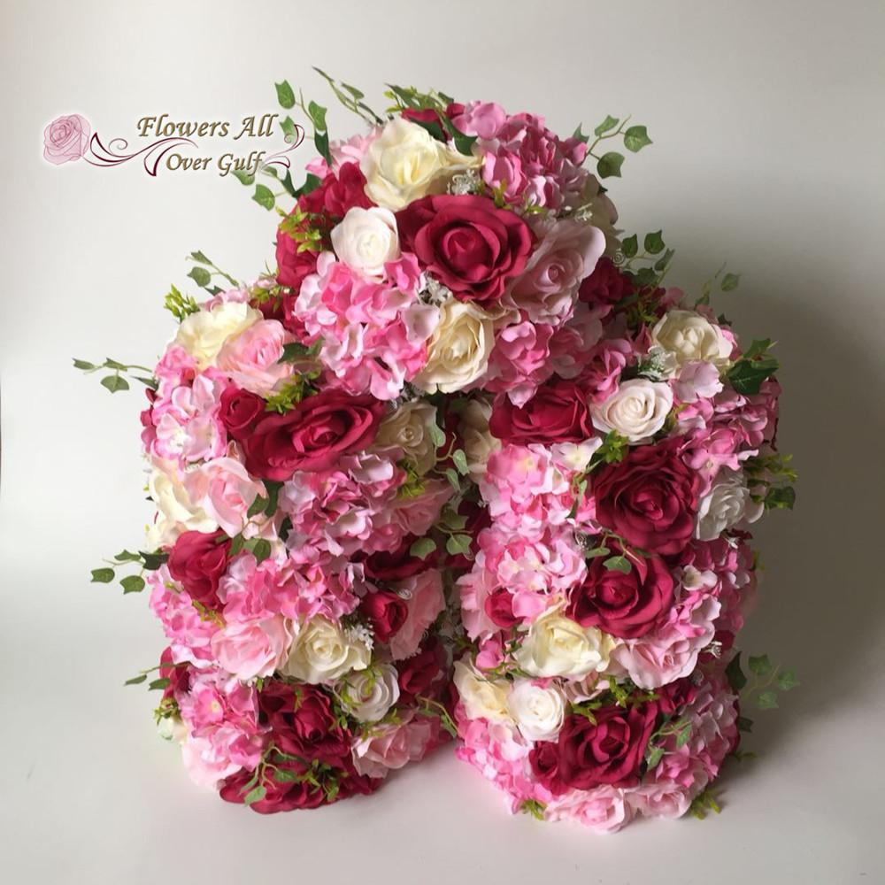 2018 artificial flowers table centerpiece flowers silk rose wedding 2018 artificial flowers table centerpiece flowers silk rose wedding arch square pavilion corners decorative from yong8 28141 dhgate mightylinksfo