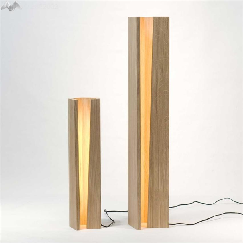 2019 Jw Modern Style Simple Solid Wood Table Lamp Wooden Desk Lights