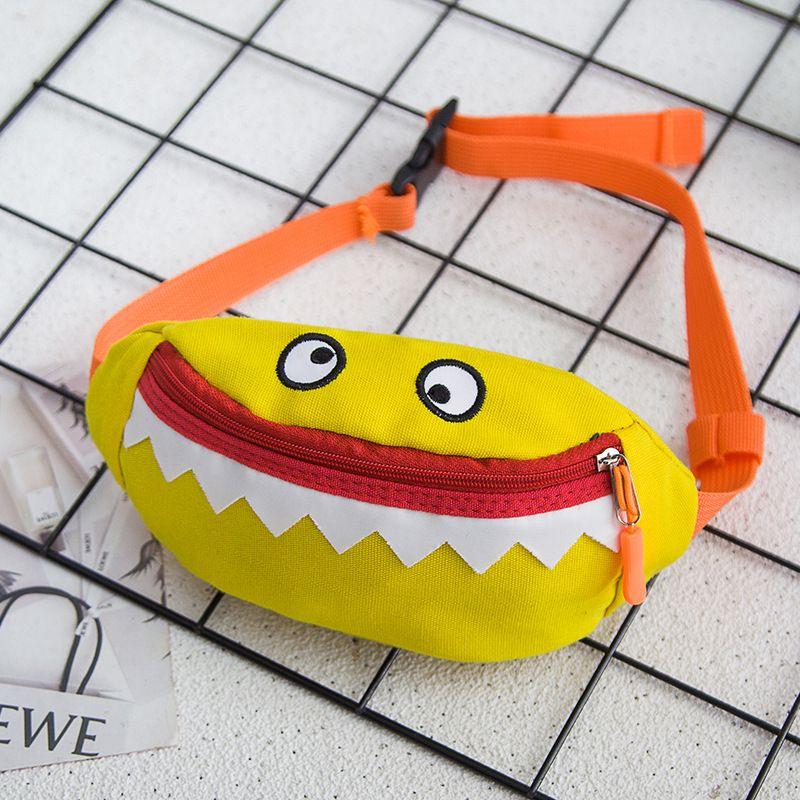 8e6bf1aafa7d 2018 New Children Waist Bags Little Monster Design For Kids Girls Boys  Simple Fashion Waist Pack Small Kindergarten Baby Pouch Cheap Boys  Backpacks Boys One ...