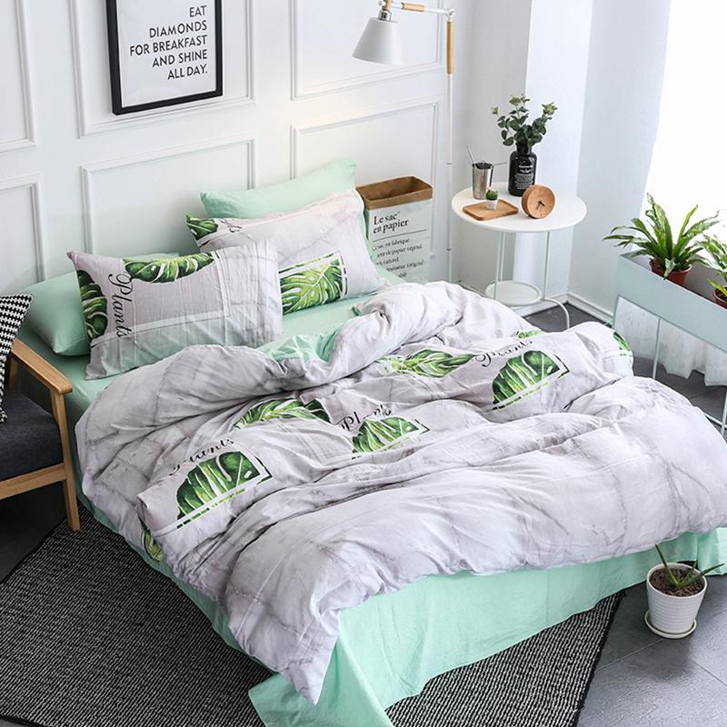 Acheter Home Textile Lumiere Gris Vert Fille Enfants Ensemble De