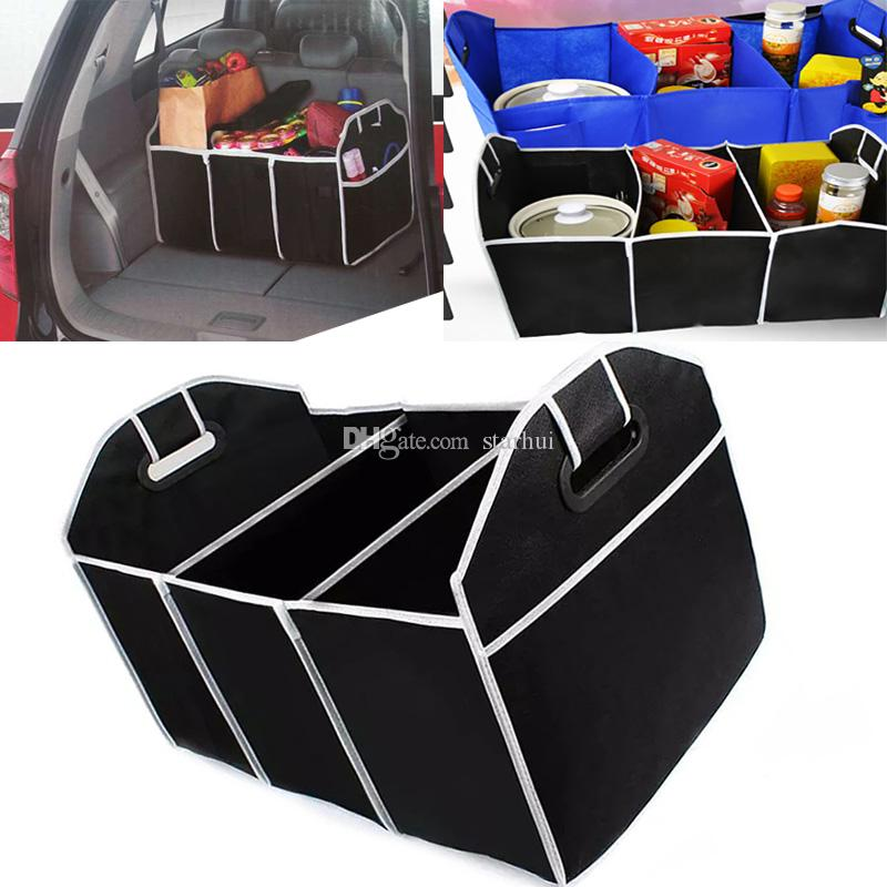Beau 2018 Storage Boxes Foldable Car Organizer Auto Trunk Storage Bins Toys Food  Stuff Storage Container Bags Auto Interior Accessories Case Wx9 421 From  Starhui ...
