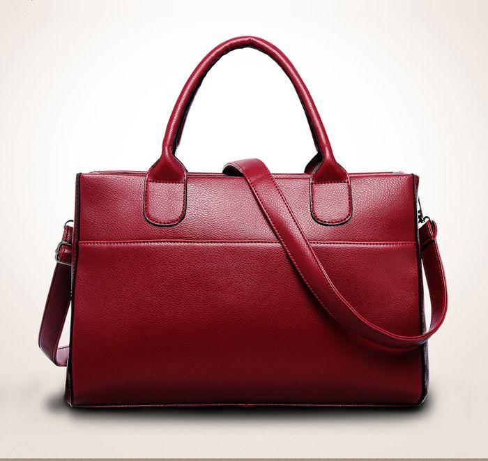 1c3ddb2913 2018 New Fashion Woman Shoulder Bags Famous Brand Luxury Handbags Women  Bags Designer High Quality Pu Totes Women  f Cheap Purses Handbags For Women  From ...