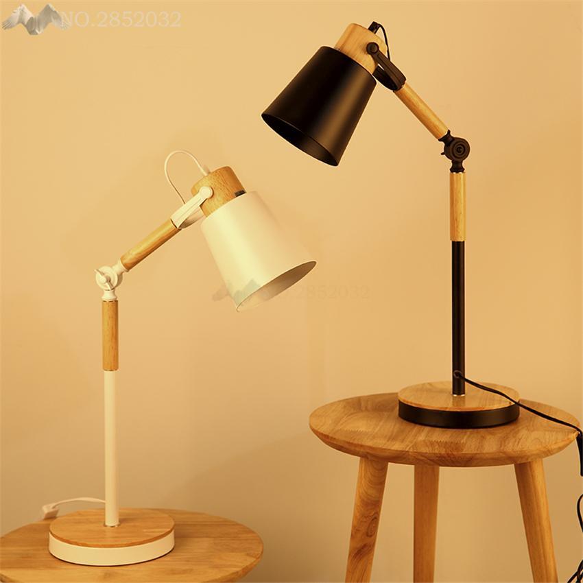 Großhandel Moderne Holz Schreibtisch Leuchten Flexible Faltbare Long ...
