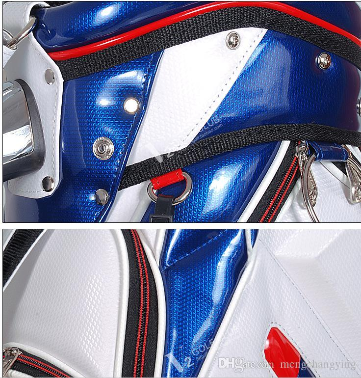 2018 limited sale brand golf bag pu leather men original golf ball bag women for club waterproof club bag