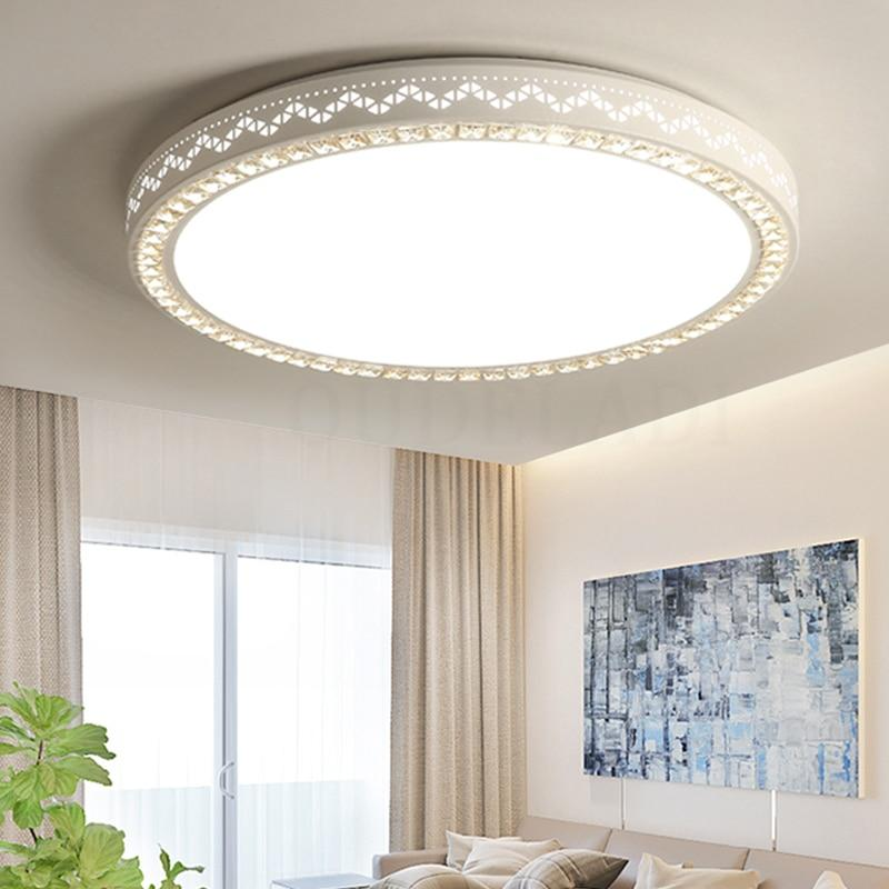 Ultradünnen Led-deckenleuchte Dimmbare Einfache Dekoration Leuchten Studie Esszimmer Balkon Schlafzimmer Wohnzimmer Deckenleuchte Deckenleuchten