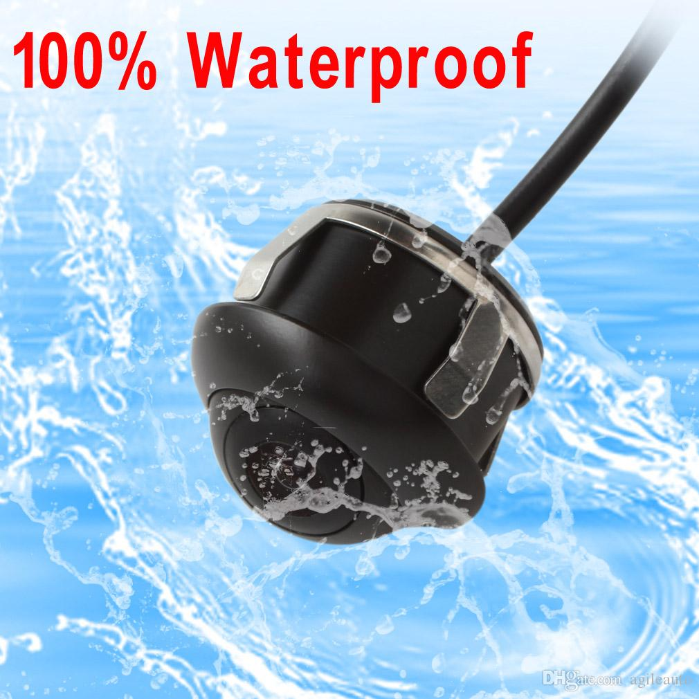 Waterproof CCD HD Night Vision 360 Degree Car rear View Front Camera Parking Camera CAL_00E