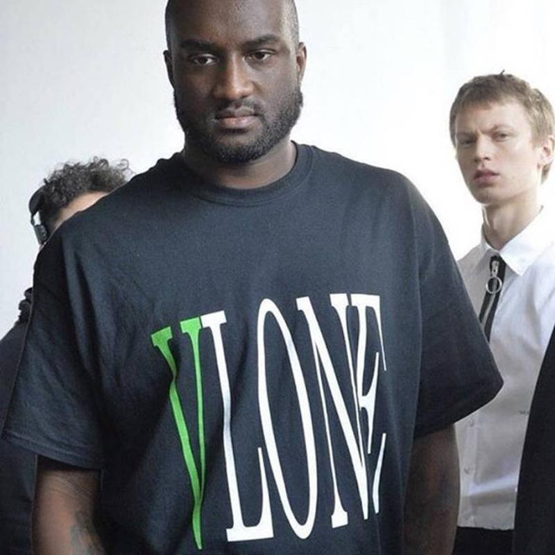 VLONE POP UP 18ss Tee Green Logo Printed Men Women Summer Breathable Cool Short Sleeves Casual Street Skateboard T Shirts HFYMTX219