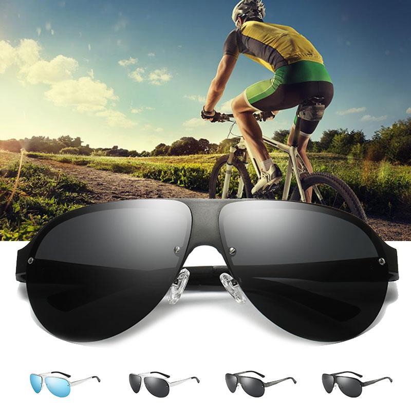 44e1eaf121 Gafas De Sol Para Hombre Gafas De Sol Polarizadas Para Hombres Con Paño De  Limpieza Y Tarjeta Polarizada Gafas Deportivas Para Ciclismo Accesorios  Para ...
