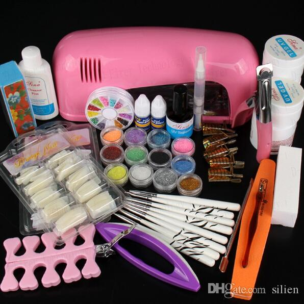 Wholesale Hot Sale Professional Manicure Set Acrylic Nail Art Salon ...