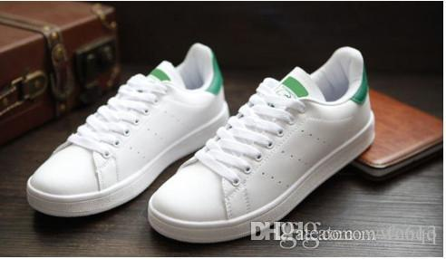 best website 54b03 85b2e hot sale 2018 Simons Stan Smith Spring Copper White Pink Black Fashion Shoe  Man Casual Leather brand woman man shoes Flats Sneakers