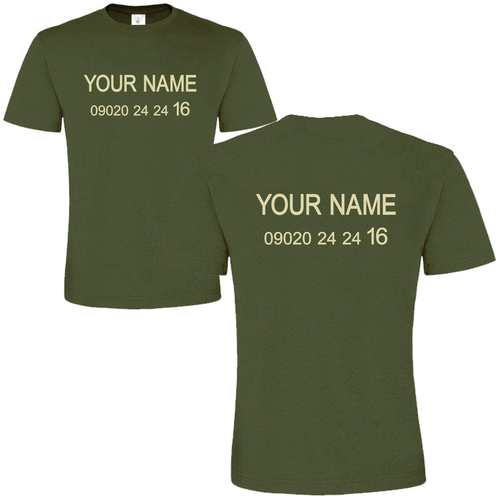 Celebrity Custom T Shirt Celeb Jungle Fancy Dress Name Personal