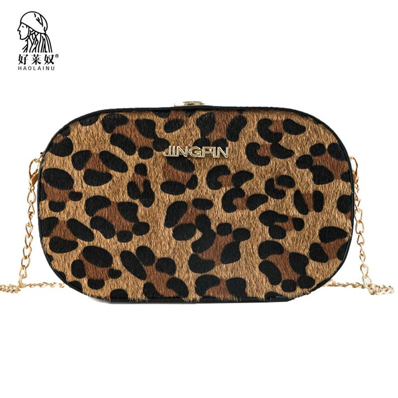 Bolsos De De Bolsos Mujer De Pequeños Compre Para Leopardo Cuero xIZRT4gqnw