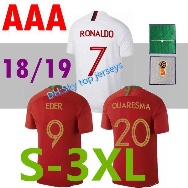 33a73d33583 2018 World Cup Soccer Jerseysr RONALDO PortugalES Thai Quality Home ...