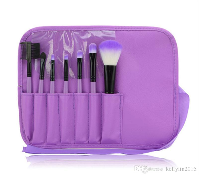 Makeup Brushes Sets Kits Cosmetics Professional Wool Handle Portable Beauty Tools Face Make Up Brush Set with Case Bag