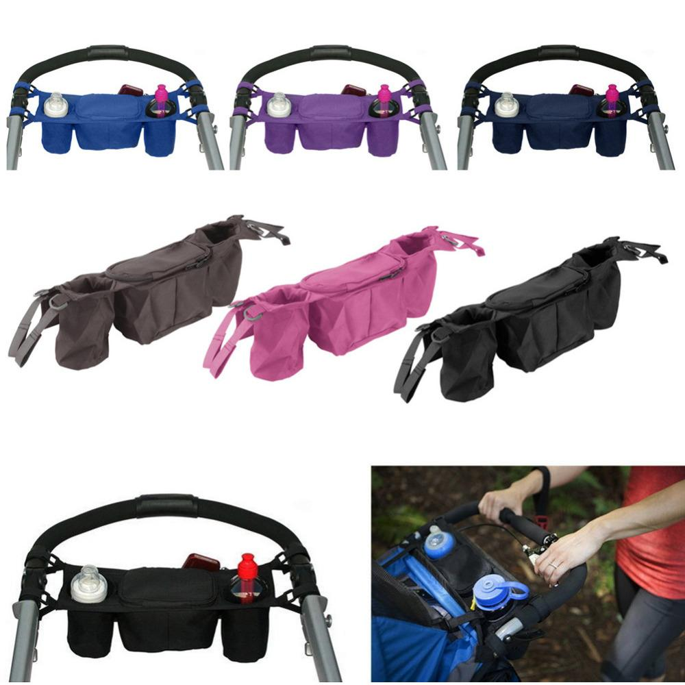 Official Website Strollers Umbrella Stroller Car Side Bag Baby Stroller Organizer Carriage Pram Buggy Cart Bottle Bags Stroller Accessories Strollers Accessories Activity & Gear