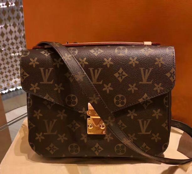 520a3b1d031b LOUIS VUITTON women quality Leather Women Cross body Bags Fashion Messenger  Bag totes Handbags