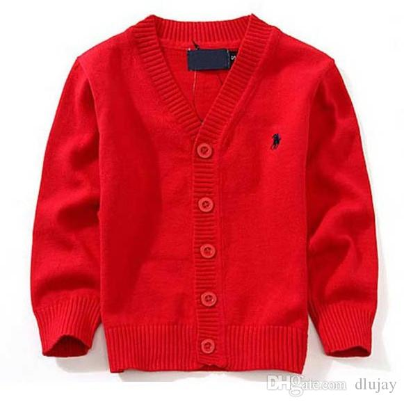 ce16bd6ac404b New Children s Top Clothes Brand 100% Cotton Baby Sweater High Quality Kids  Outerwear Girl Sweater Boy Sweater V-neck Polo Sweaters 00002
