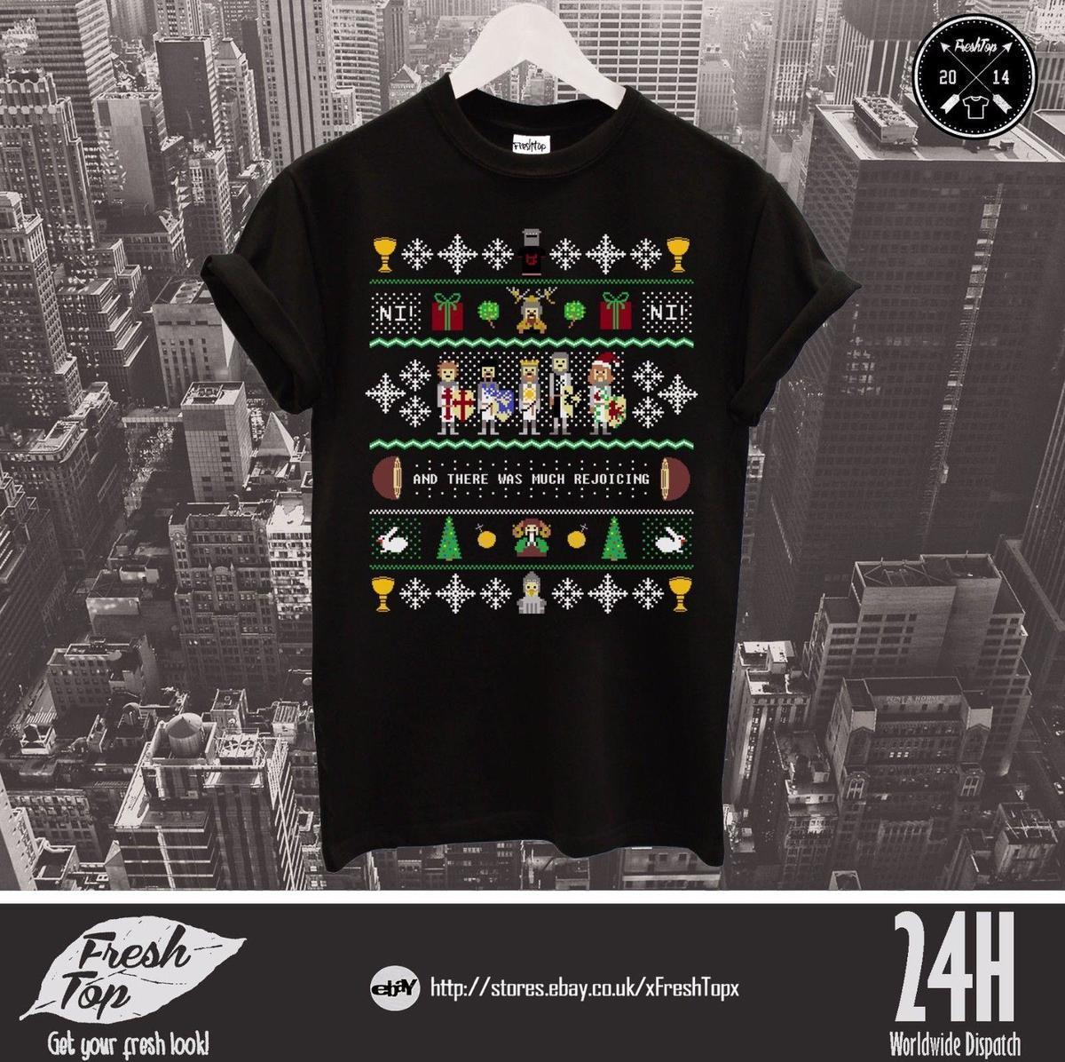 Compre El Top De La Camiseta De Monty Python Y El Santo Grial Y Hubo Mucho  Júbilo A  12.08 Del Linnan06  e60f08c6103fd