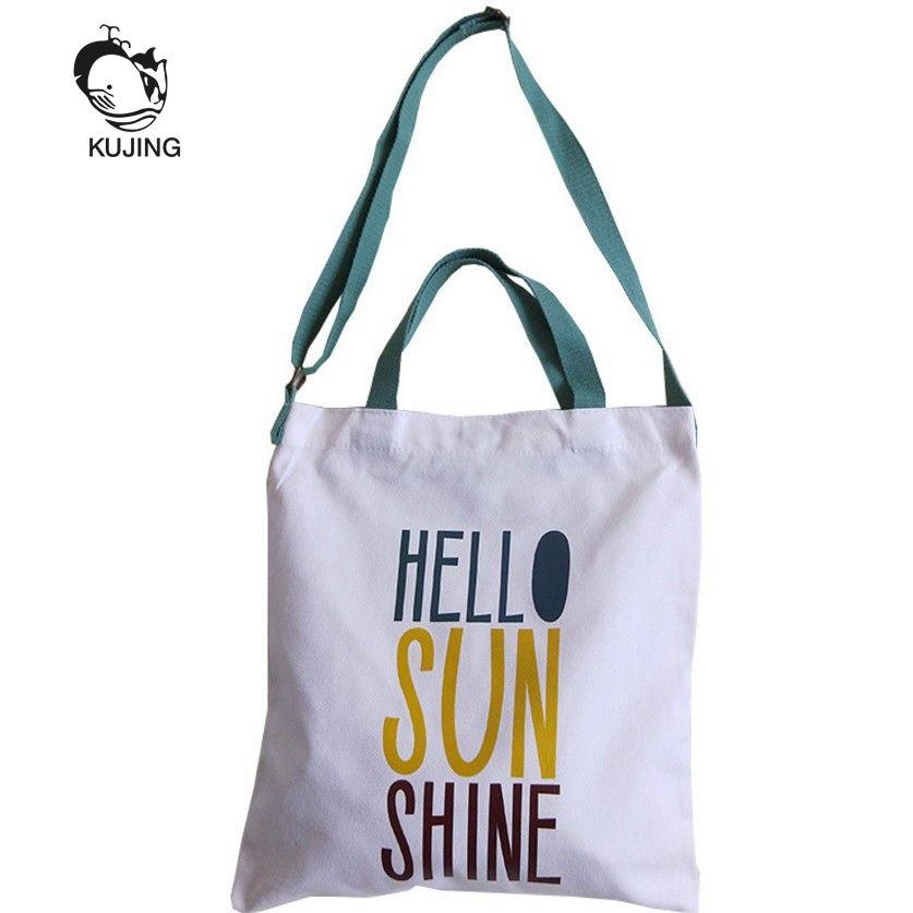 ac5c59cc678d KUJING Ladies  Handbags High Quality Canvas Women s Shopping Bags ...