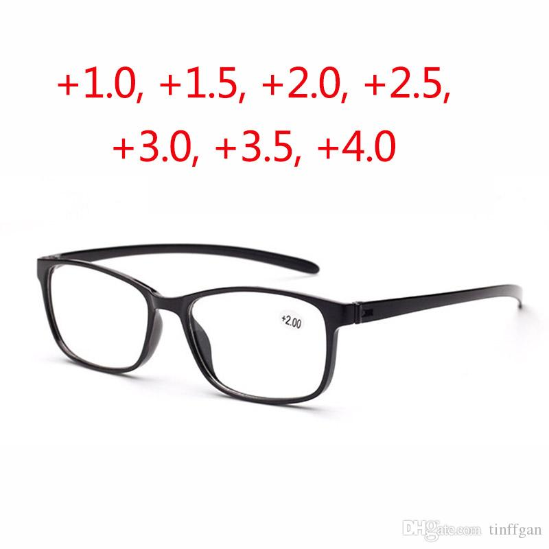 6e8f79174b8 Super Light PC Reading Glasses Men Women Function Optical Glasses For Old  People Hyperopia Elderly Presbyopia Black Red Brown Oculos De Grau Pocket  Reading ...