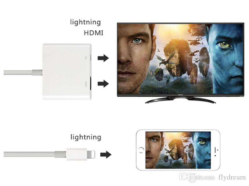 Acquista cavo convertitore digitale adattatore hdmi illuminazione