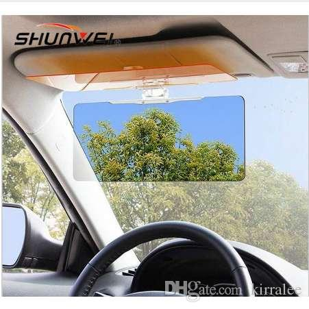 Car Anti Glare Goggles Mirror Car Sun Visor Sunscreen Shade Car Sunshade  With Night Vision Goggles+Sunglasses Best Auto Sun Shade Best Car Blinds  From ... e0eff84c21d