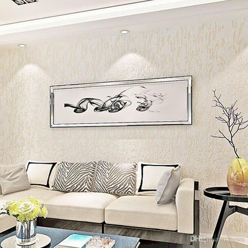 Modern Plain Simple Solid Color Wallpaper Living Room Bedroom Tv