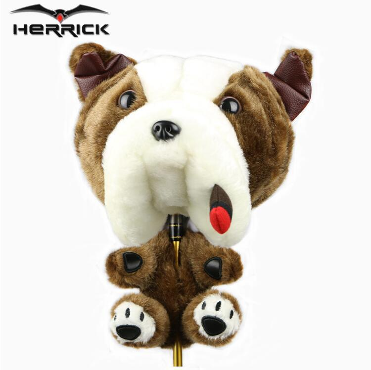 6fff3465faa 2019 2017 New HERRICK Golf Club Wood Sets Headcovers Animal Plush One Head  Protection Sets For Men And Women Club Headcaps From Stem