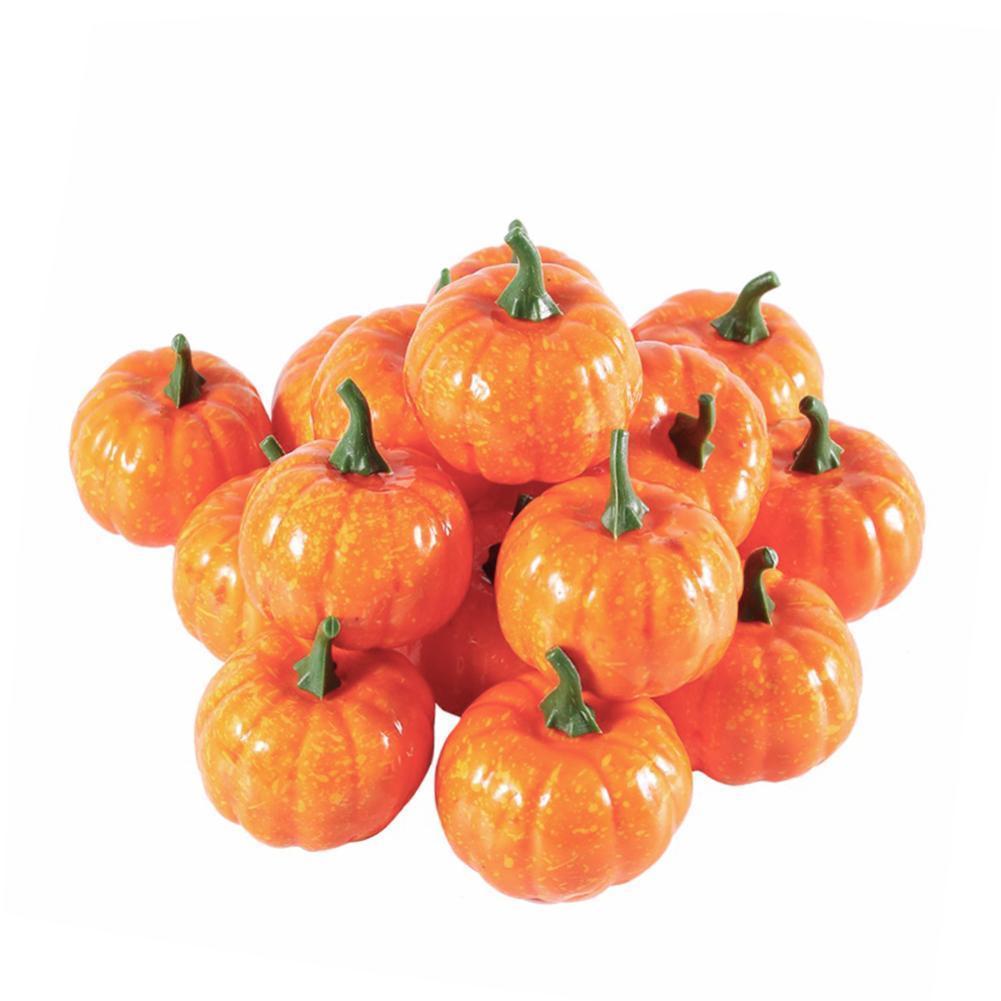 Acheter TOPATY Halloween Décoration Simulation Petite Mousse De Citrouille  Mini 5.5 CM Pour La Décoration De Fête À La Maison Y1891202 De $15.76 Du ...